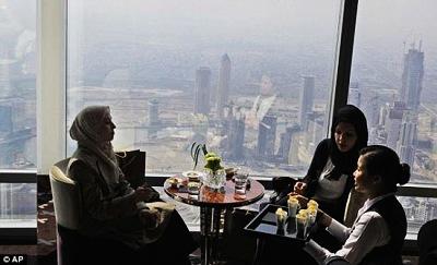迪拜世界最高餐厅
