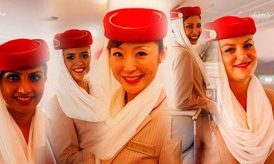 阿联酋航空空姐