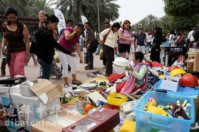迪拜跳蚤市场