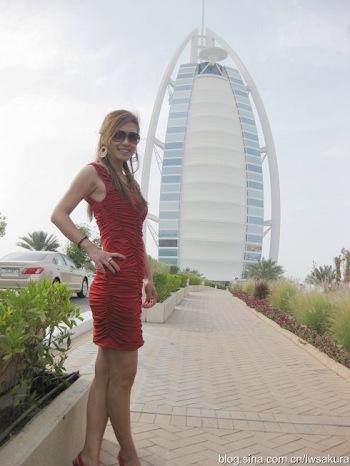 转载空姐带你吃迪拜七星伯瓷帆船酒店亚洲下午茶