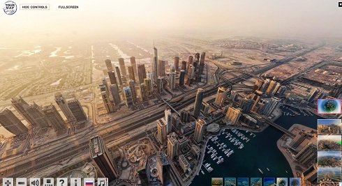 Virtual Tour of Dubai City