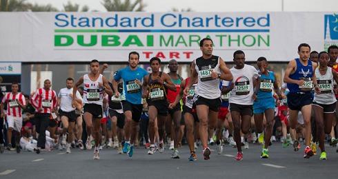 DUBAI MARATHON 2013