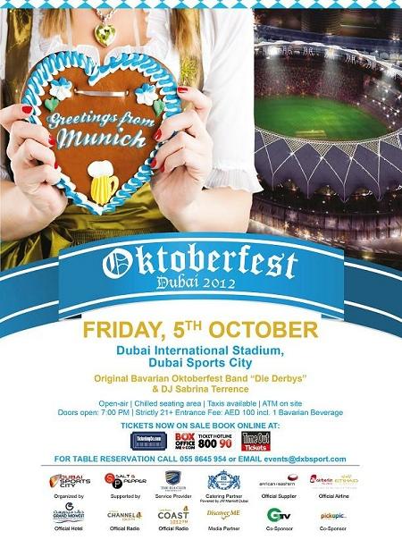 Oktoberfest Dubai 2012