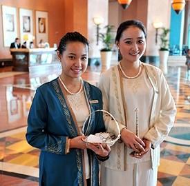 亚特兰蒂斯酒店中文服务员