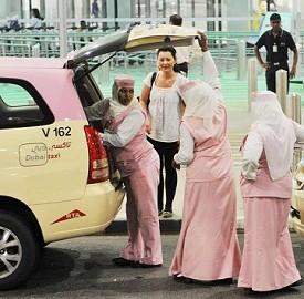 关于迪拜出租车的二三事