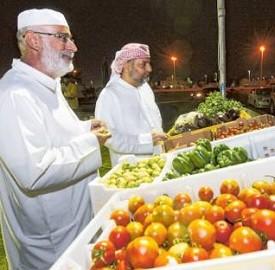 阿布扎比农贸市场