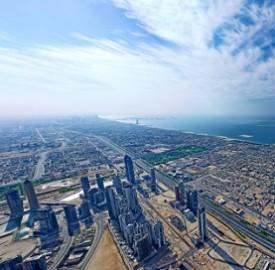 高精度迪拜全景地图