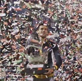 迪拜网球赛小德夺冠