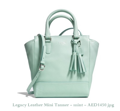 48894 Legacy Leather Mini Tanner - mint - AED1450