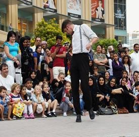 Dubai Marina Street Festival 2013