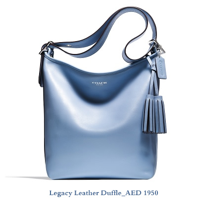 Legacy Leather Duffle_AED 1950
