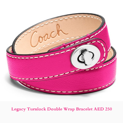 Legacy Turnlock Double Wrap Bracelet AED 250