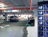 Rashidiya Metro parking