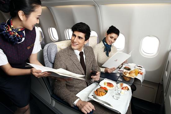 A330-300公务舱餐食