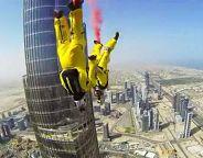 skydiving burj khalifa