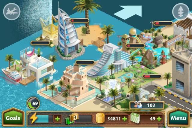 真实还原迪拜朱美拉原景,帆船酒店和浪花酒店