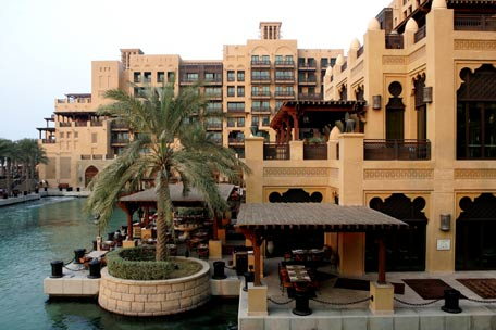 General view of Mina A' Salam Hotel at Madinat Jumeirah