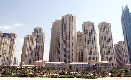 Ritz Carlton Hotel at Dubai Marina