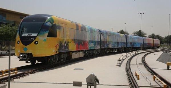 Dubai+Culture+Dubai+Metro+Carriages+-+Abdulqader+Al+Rais