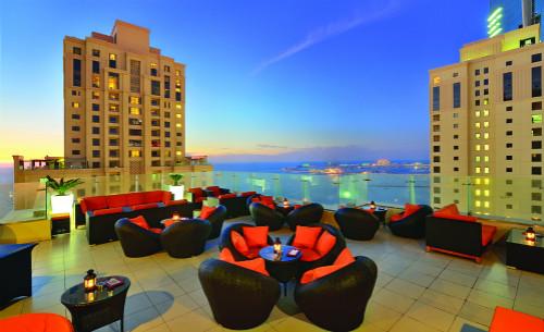 Fogueira Lounge terrace - Ramada Plaza Jumeirah Beach Residence_meitu_5