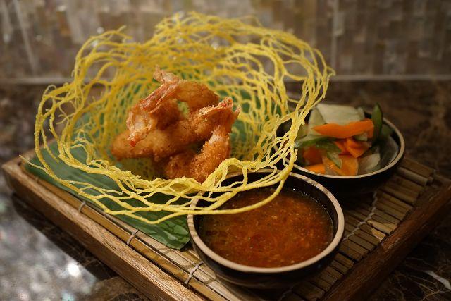 脆炸椰香大虾