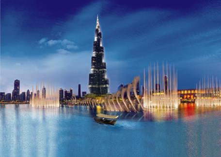 迪拜4个最好看的湖47